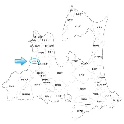 青森県,つがる市木造